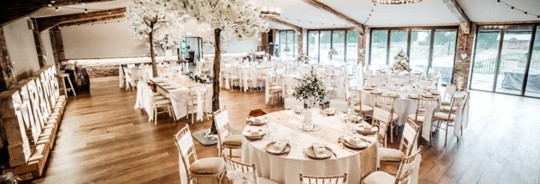 Barn And Marquee Wedding Receptions Villa Farm